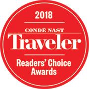 Condé Nast Traveler  – 2018 Reader's Choice Award Top River Cruise Lines