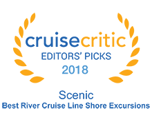 2018 Cruise Critic Awards  – Best River Cruise Line Shore Excursions