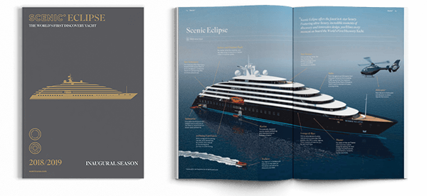 Ocean Cruises On The Eclipse Scenic Tours - Cruise ship brochure